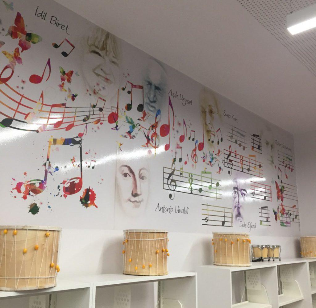 Derslik 5 1 | Okul Tasarımcısı | Okul Duvar Posterleri