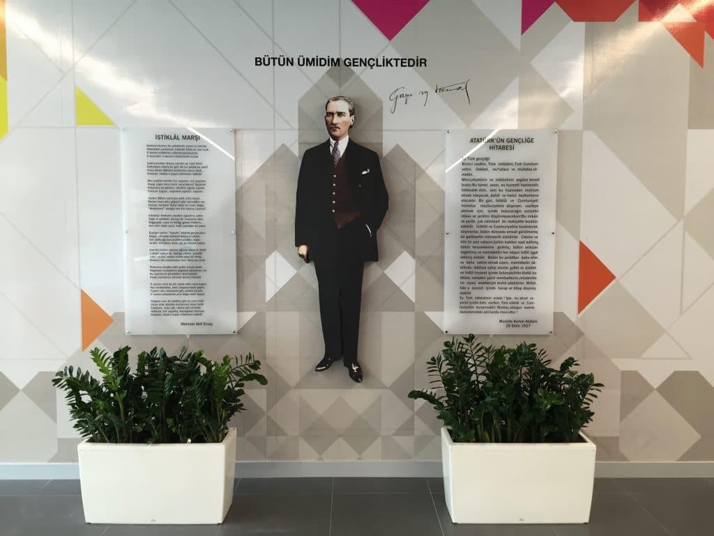 Ataturk kosesi 2   Okul Tasarımcısı   Okul Duvar Posterleri