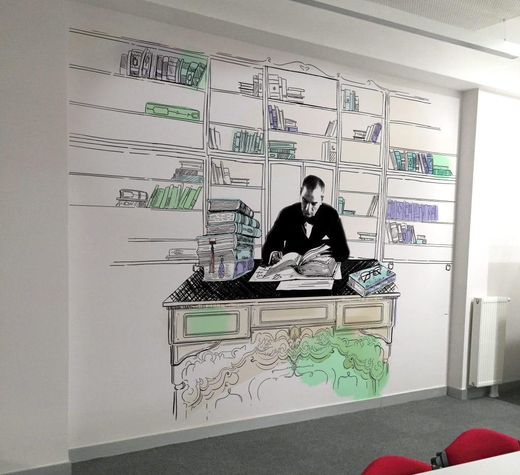Ataturk kosesi 6   Okul Tasarımcısı   Okul Duvar Posterleri