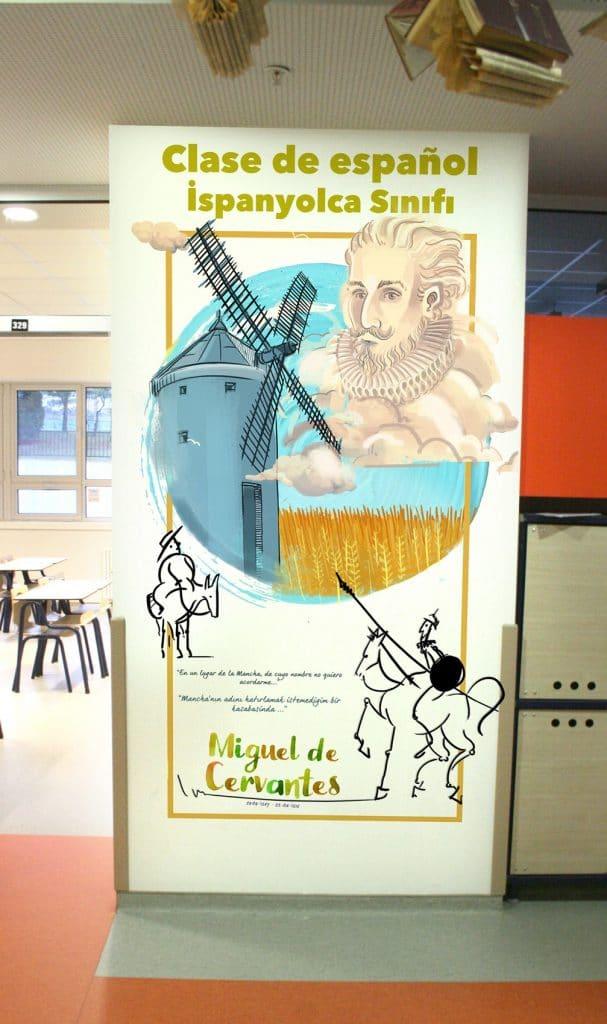 koridor 7   Okul Tasarımcısı   Okul Duvar Posterleri