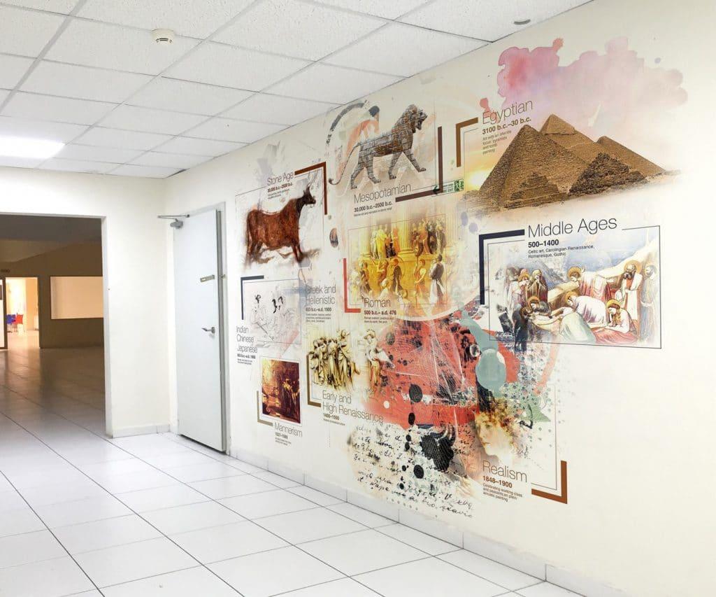 koridor 9   Okul Tasarımcısı   Okul Duvar Posterleri