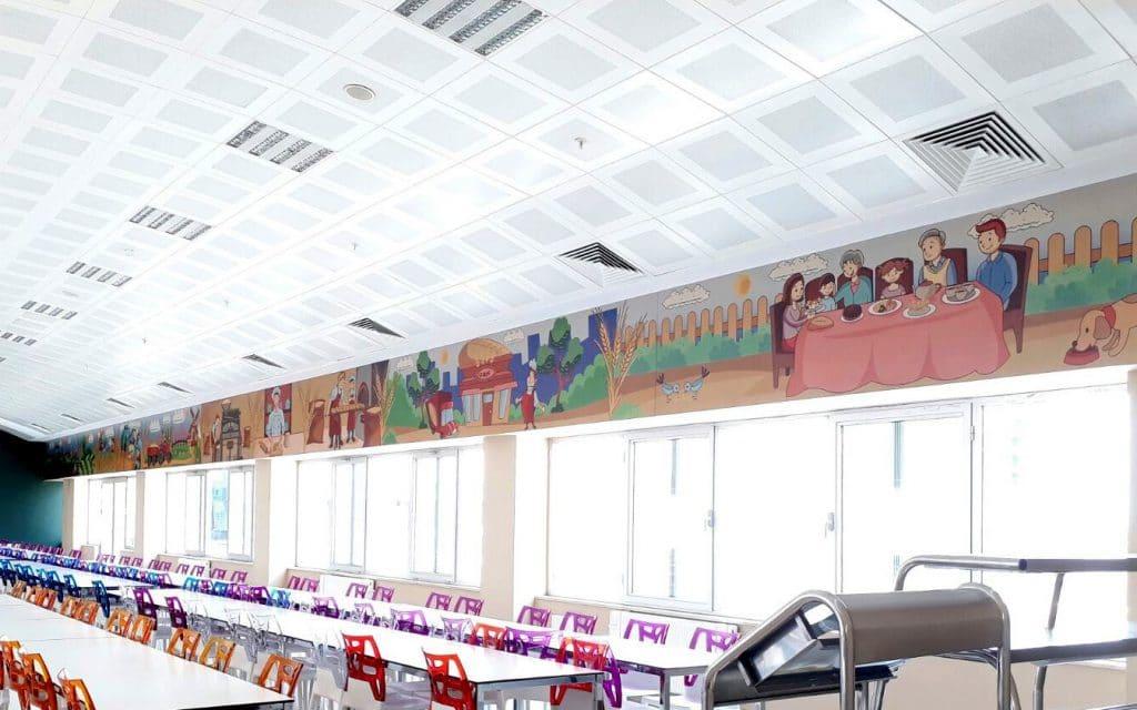 yemekhane 3   Okul Tasarımcısı   Okul Duvar Posterleri