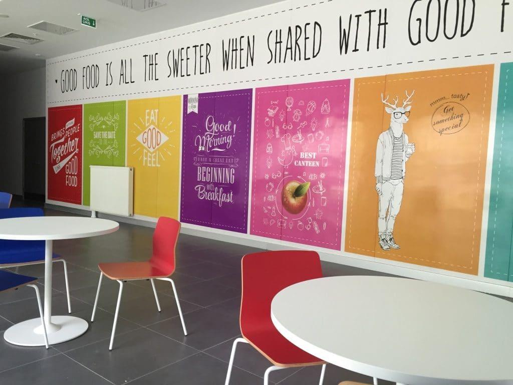 yemekhane 7   Okul Tasarımcısı   Okul Duvar Posterleri