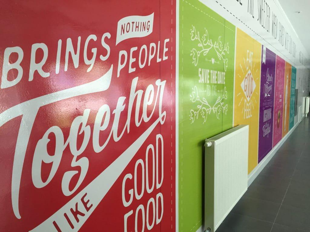 yemekhane 8   Okul Tasarımcısı   Okul Duvar Posterleri