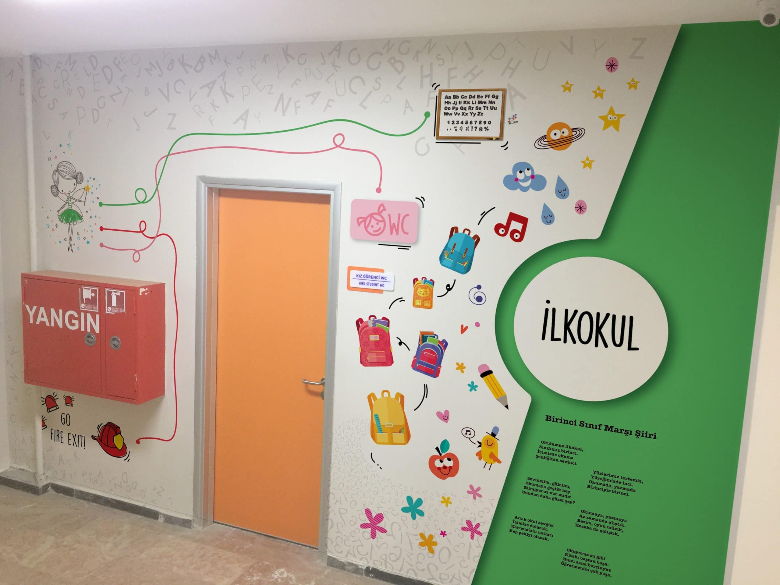 bo 01 | Okul Tasarımcısı | Okul Duvar Posterleri