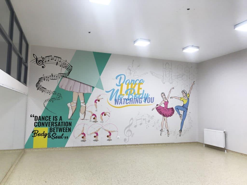 dans   Okul Tasarımcısı   Okul Duvar Posterleri