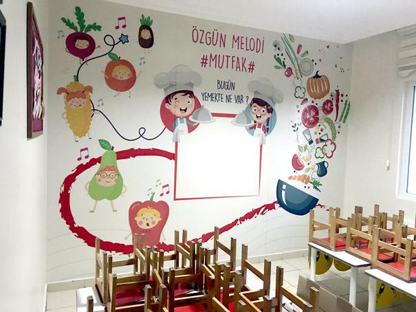 okullarda yemekhaneler ne renk olmalı