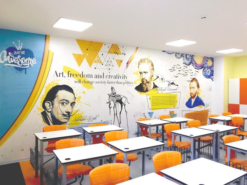 sınıf duvarları ne renk olmalı